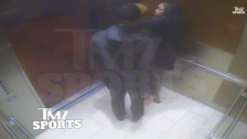 Video appears to show NFL player Rice striking fiancee