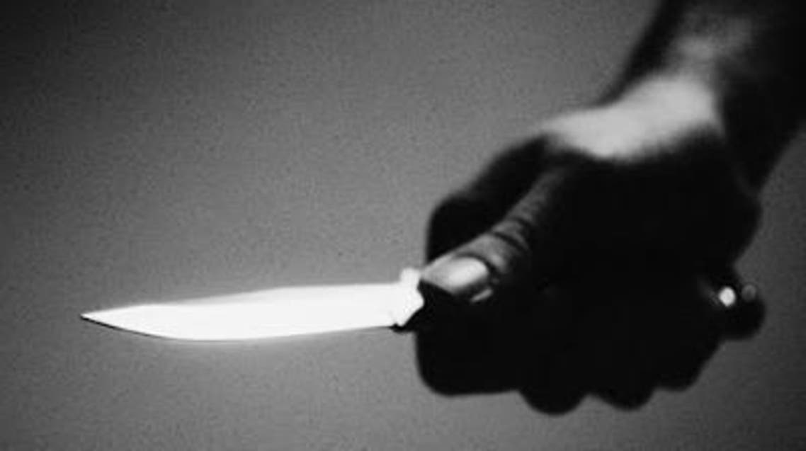 سكين جريمة طعن