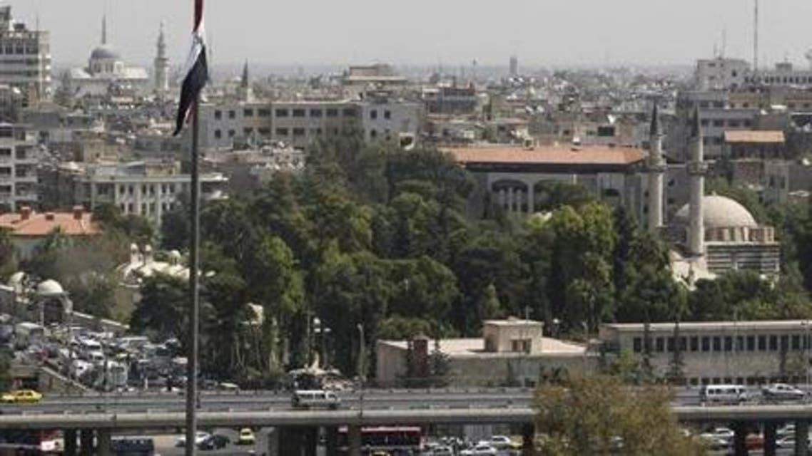 A view shows part of Damascus city September 20,2012. (Reuters)