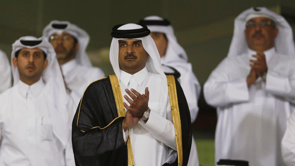 Sheikh tamim bin hamad al-thani Qatar reuters