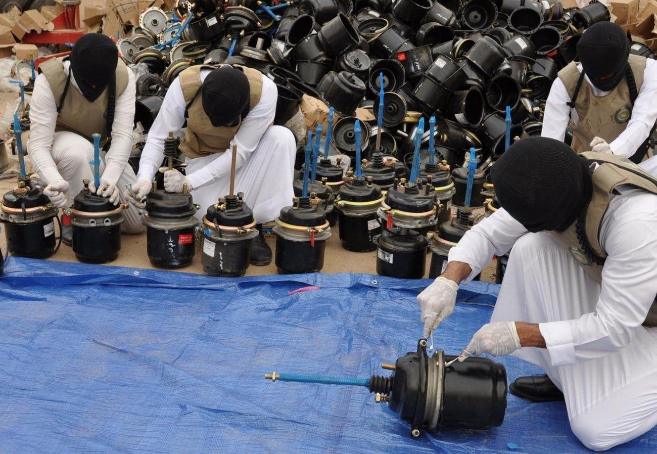 ضبط مخدرات في السعودية