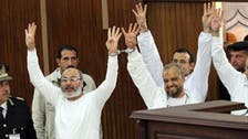 Egypt court sentences Brotherhood leader, cleric to 20 years