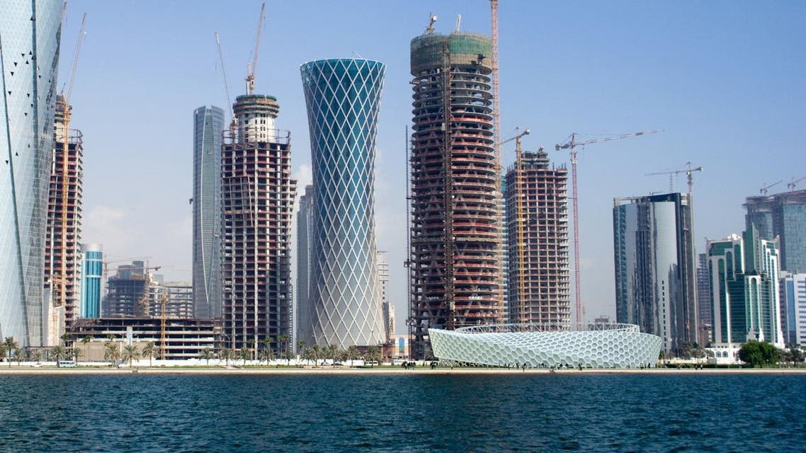 Doha skyline reuters