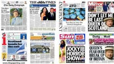 London papers rally for Scotland 'no' vote