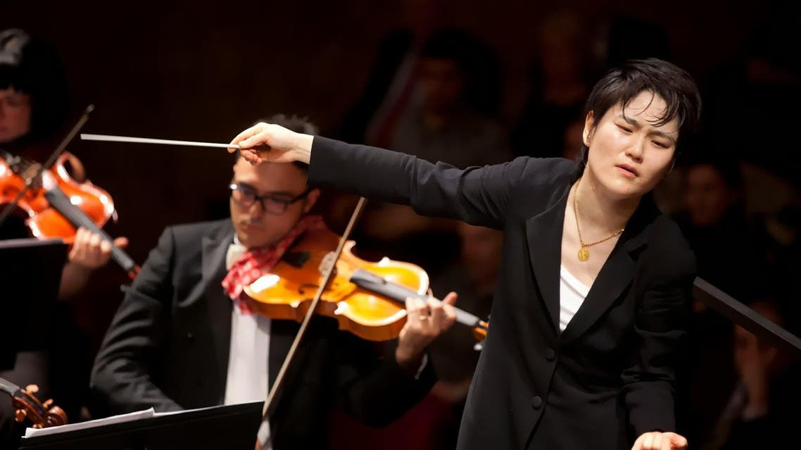 Han-Na Chang Qatar orchestra (Photo courtesy: Music Progetto)