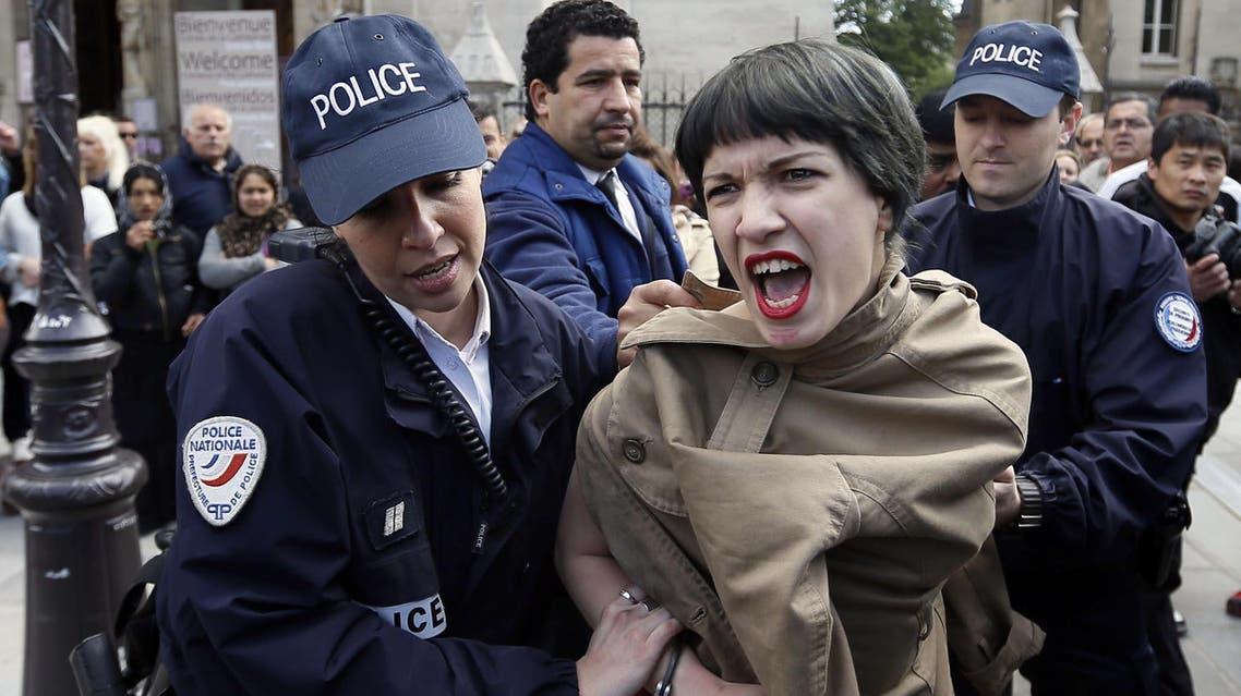 Femen Paris AFP