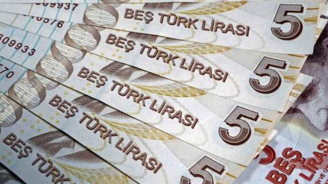Turkish 5 lira banknotes are seen in this illustration picture taken in Istanbul. (File photo Reuters)