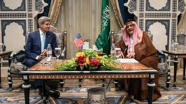 نووي إيران.. كيري يلتقي وزير الخارجية السعودي بباريس