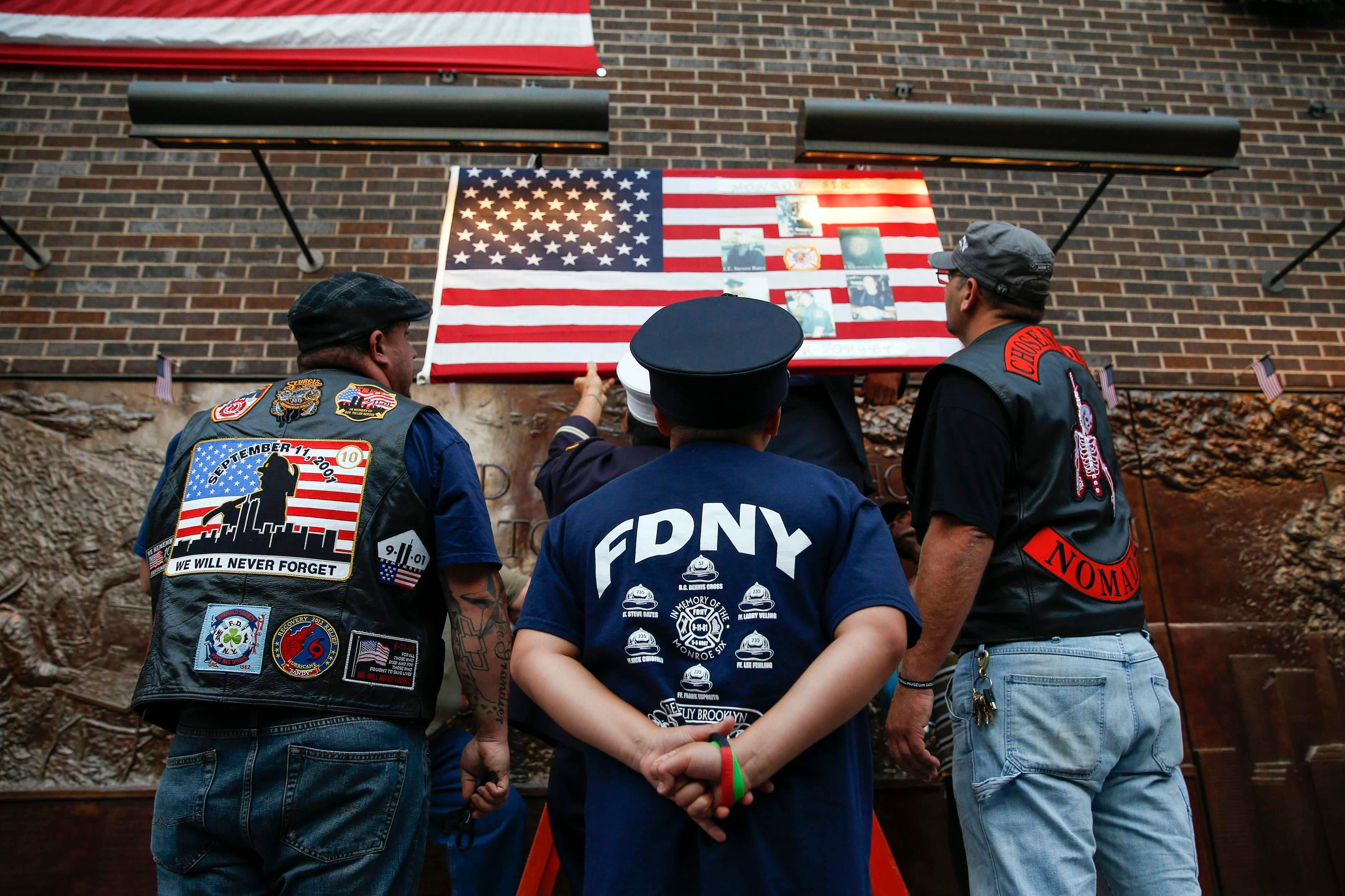 Americans mark 9/11