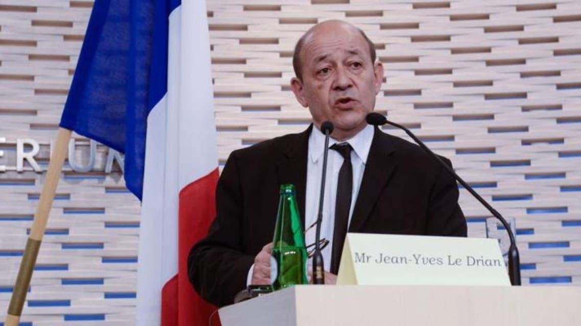 وزير الدفاع الفرنسي جان أيف لودريان فرنسا