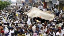 Yemen rebels, officials in talks on crisis deal