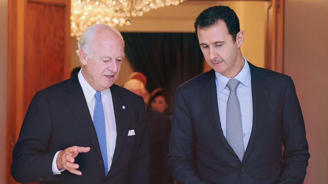 President Bashar al-Assad (AFP)
