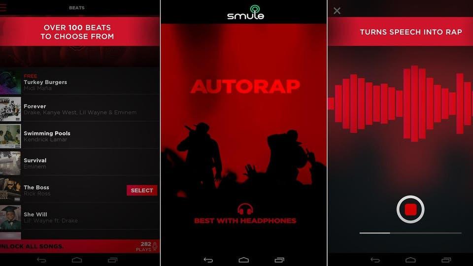 تطبيق يحول الكلمات العادية إلى أغنية راب