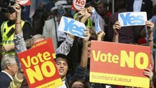 New Scottish poll confirms slight lead for 'no' camp