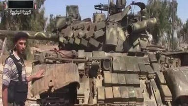 """ثوار """"جيش الأبابيل"""" على بعد 63 كيلومتراً من دمشق"""