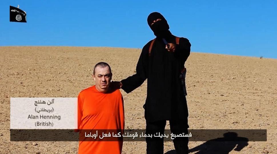 Alan Henning reuters ISIS video still