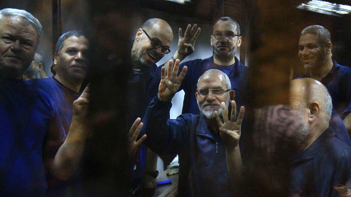 Muslim Brotherhood spiritual guide Mohammad Badie AFP