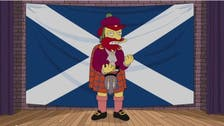 The Simpsons' Groundskeeper Willie calls for Scottish independence