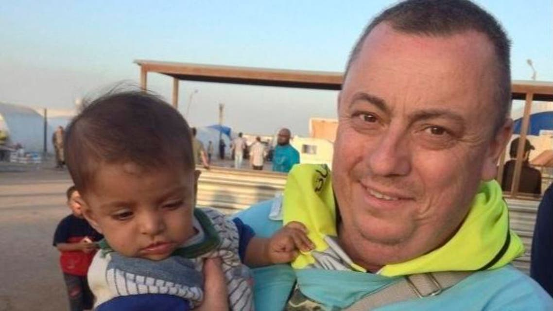 An undated family handout photo of British aid worker Alan Henning taken at a refugee camp on the Turkish-Syria border. Islamic State militants fighting in Iraq and Syria released a video on September 13, 2014. (Reuters)1