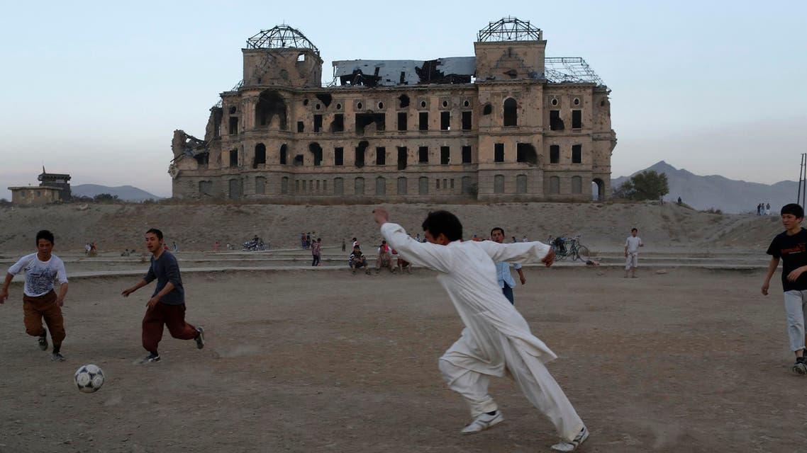 Afghanistan football Reuters