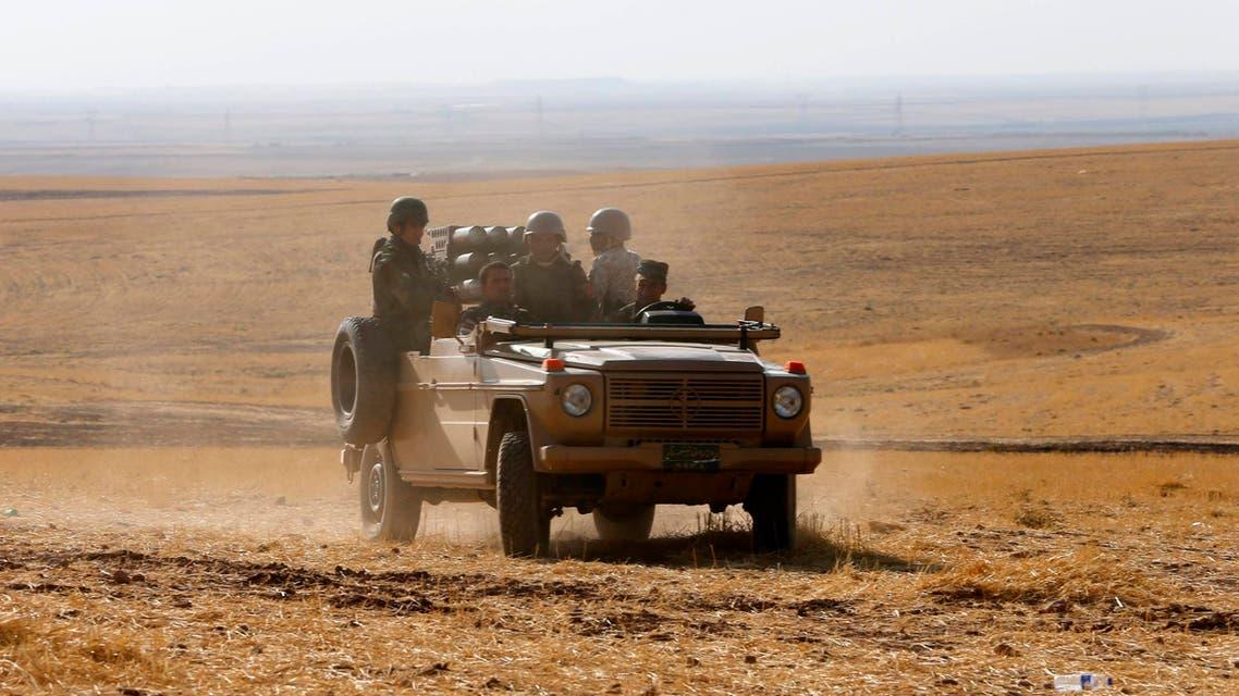 عناصر من البيشمركة بجانب الموصل 3