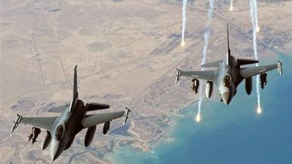 الطيران الأميركي يشن غارات على داعش بالعراق