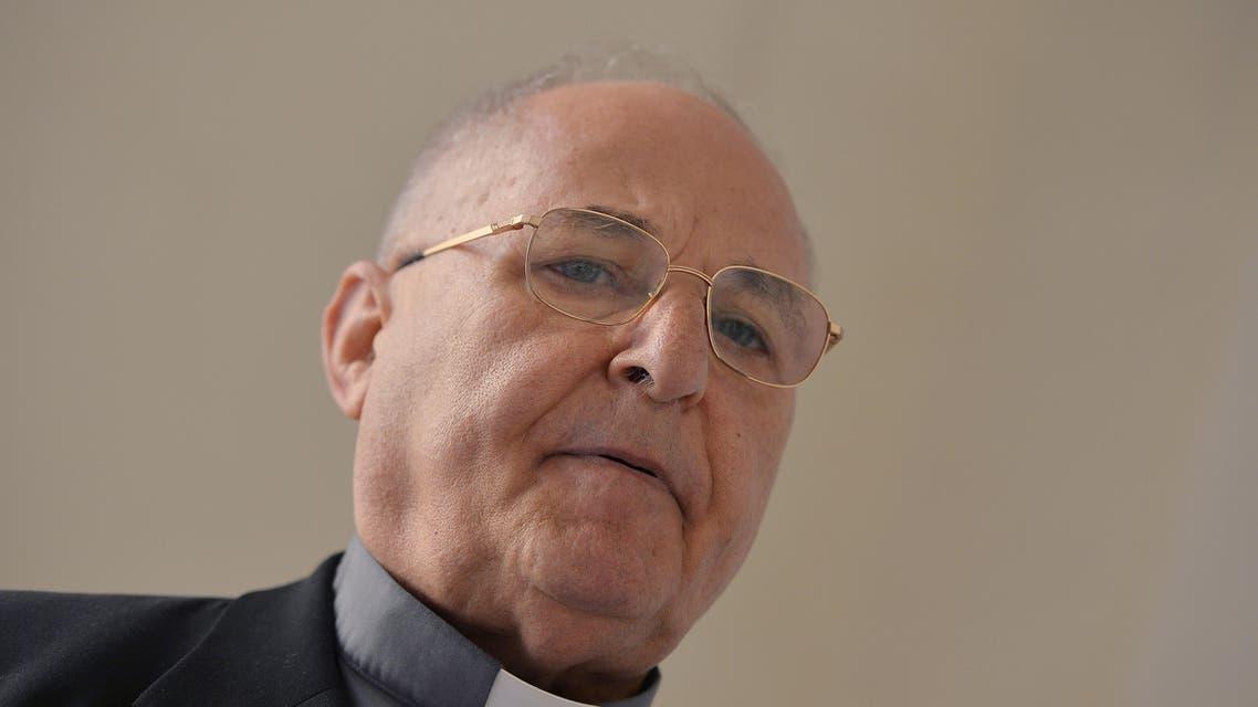 Auxiliary bishop of Babylon, Shlemon Warduni,  AFP