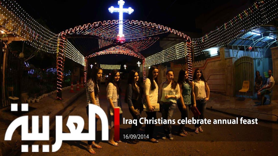 Iraqi Christians celebrate annual feast