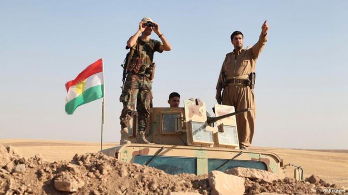 القوات الكردية تطرد داعش من 4 قرى بشمال العراق