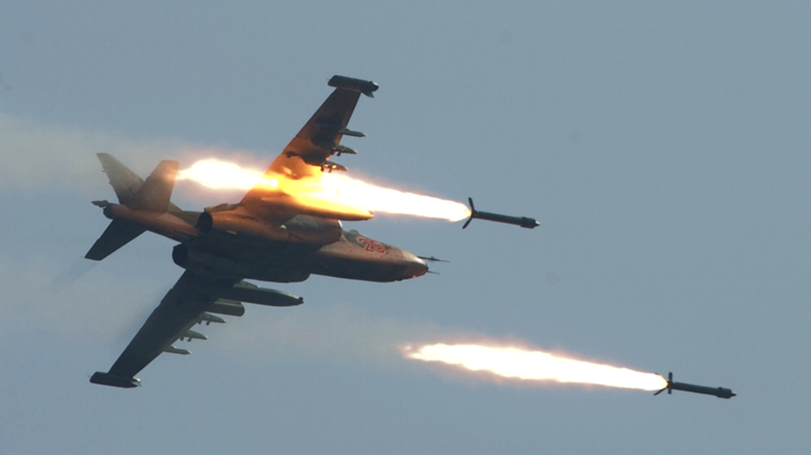 طائرات تقصف داعش