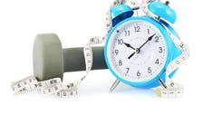 Working out against the clock: Try this 20 minute routine