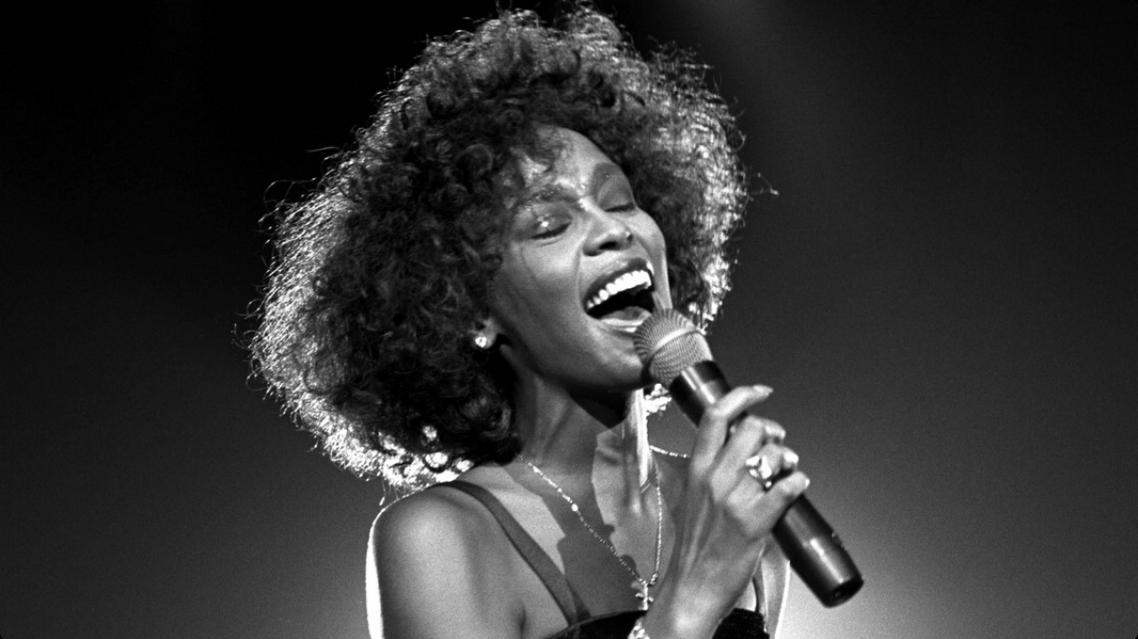 المغنية الأميركية السوداء ويتني هيوستن