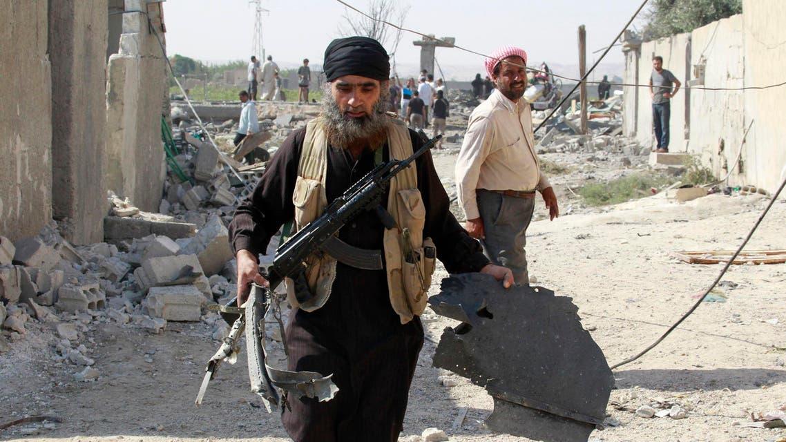 Raqqa ISIS Reuters