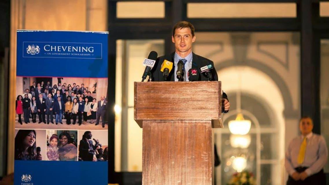 john casson egypt british ambassdor