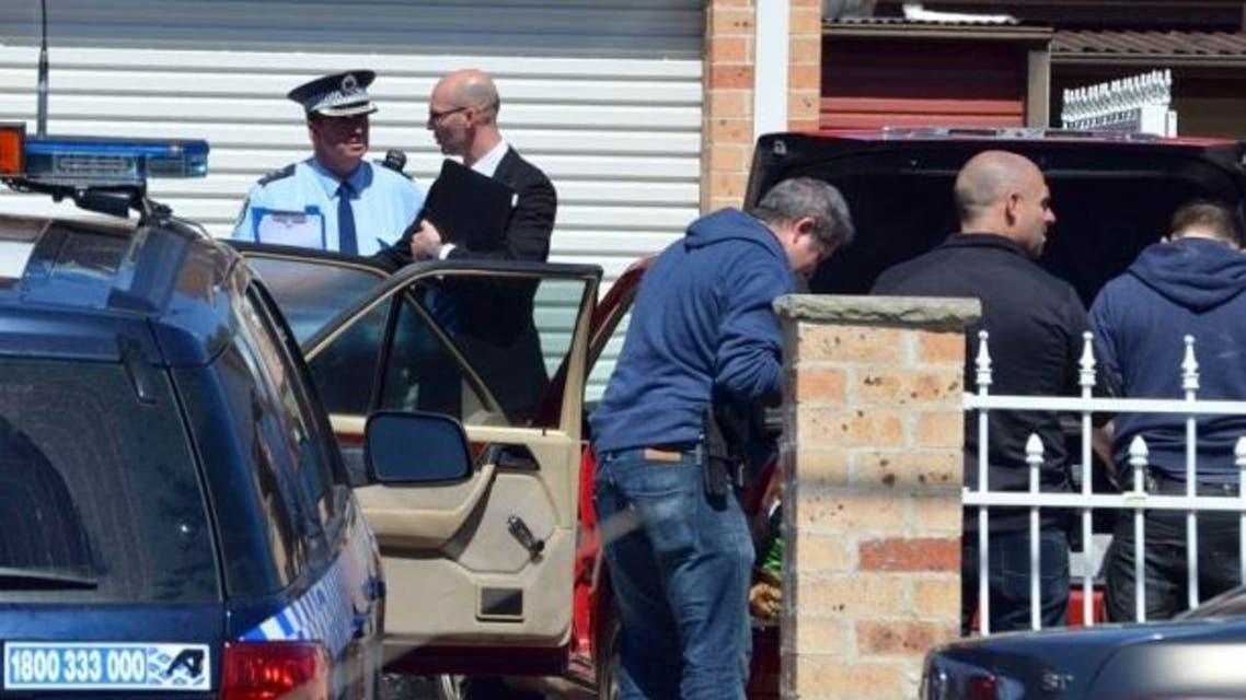 المداهمات التي قامت بها الشرطة الأسترالية بدأت صباح أمس وما زالت مستمرة