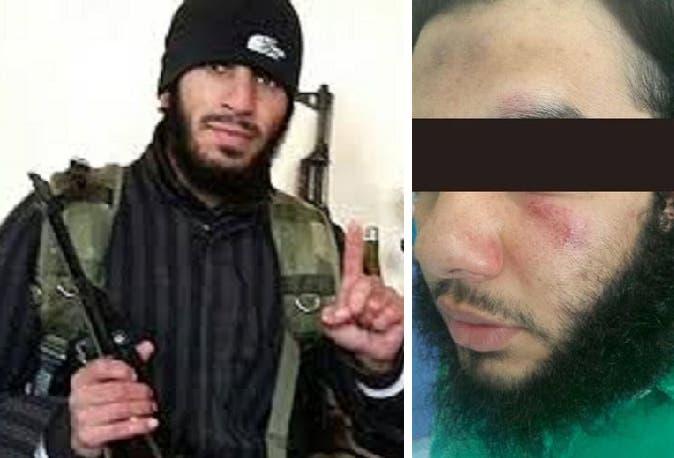 الصورة الى اليمين أرسلها قيصر طراد للمعتقل اللبناني بسيدني، والثانية للأفغاني الأصل بريالي