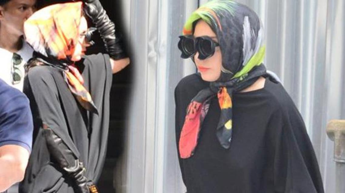 lady gaga hijab