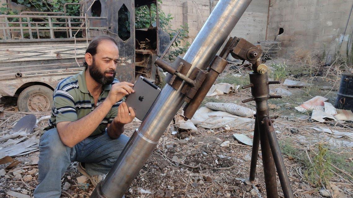 الجيش الحر ريف دمشق سوريا damascus syria