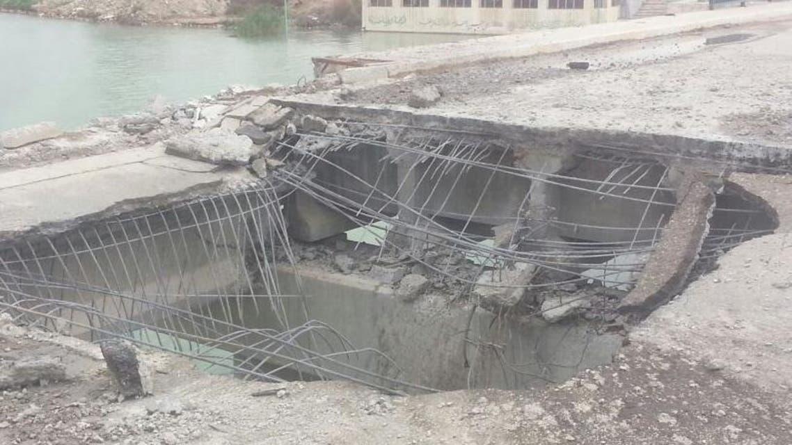 تهديم الجسور خطة داعشية