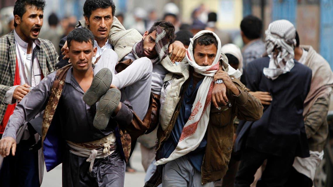 reuters yemen houthi clashes