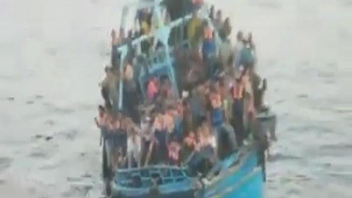 """THUMBNAIL_ شهادات ناجين فلسطينيين من غرق """"قارب موت"""""""