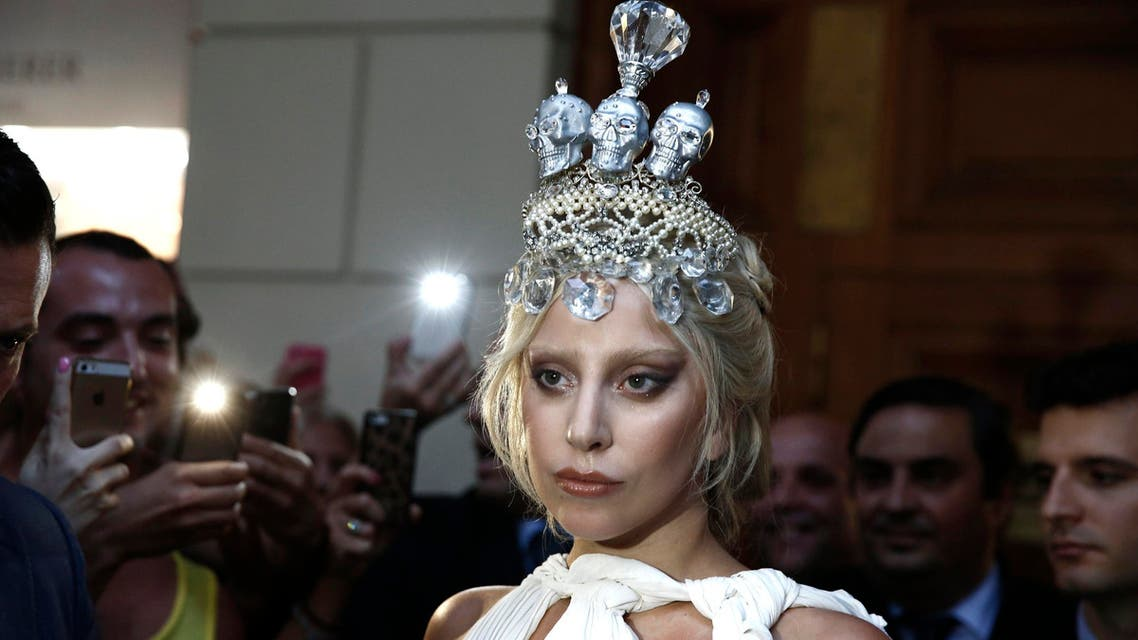 Singer Lady Gaga leaves a hotel on her way for a concert, which is part of her world tour, in Athens September 19, 2014.  (Reuters)