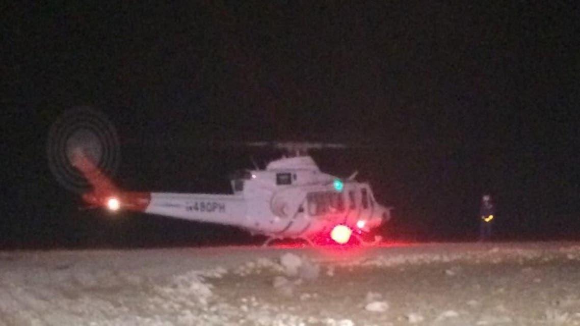 طائرة إسعاف جوي في حائل