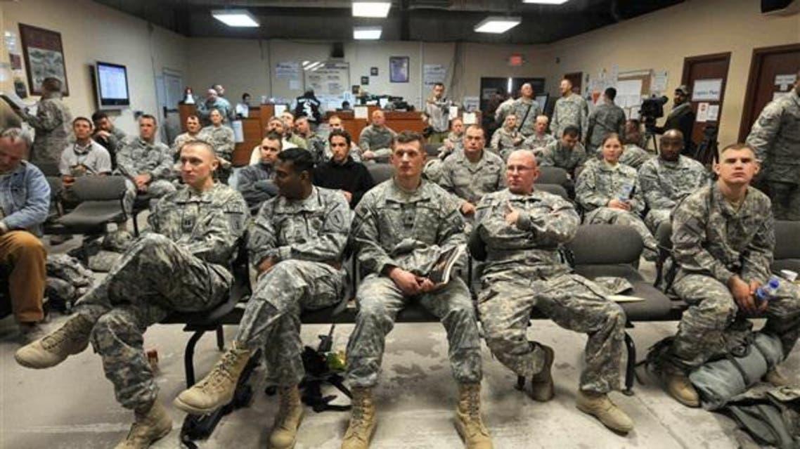 المستشارين العسكريين الأميركيين