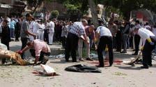 Egypt blast kills 'witness against Mursi'