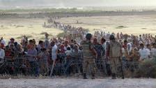 70 ألف كردي سوري نزحوا إلى تركيا خلال 24 ساعة