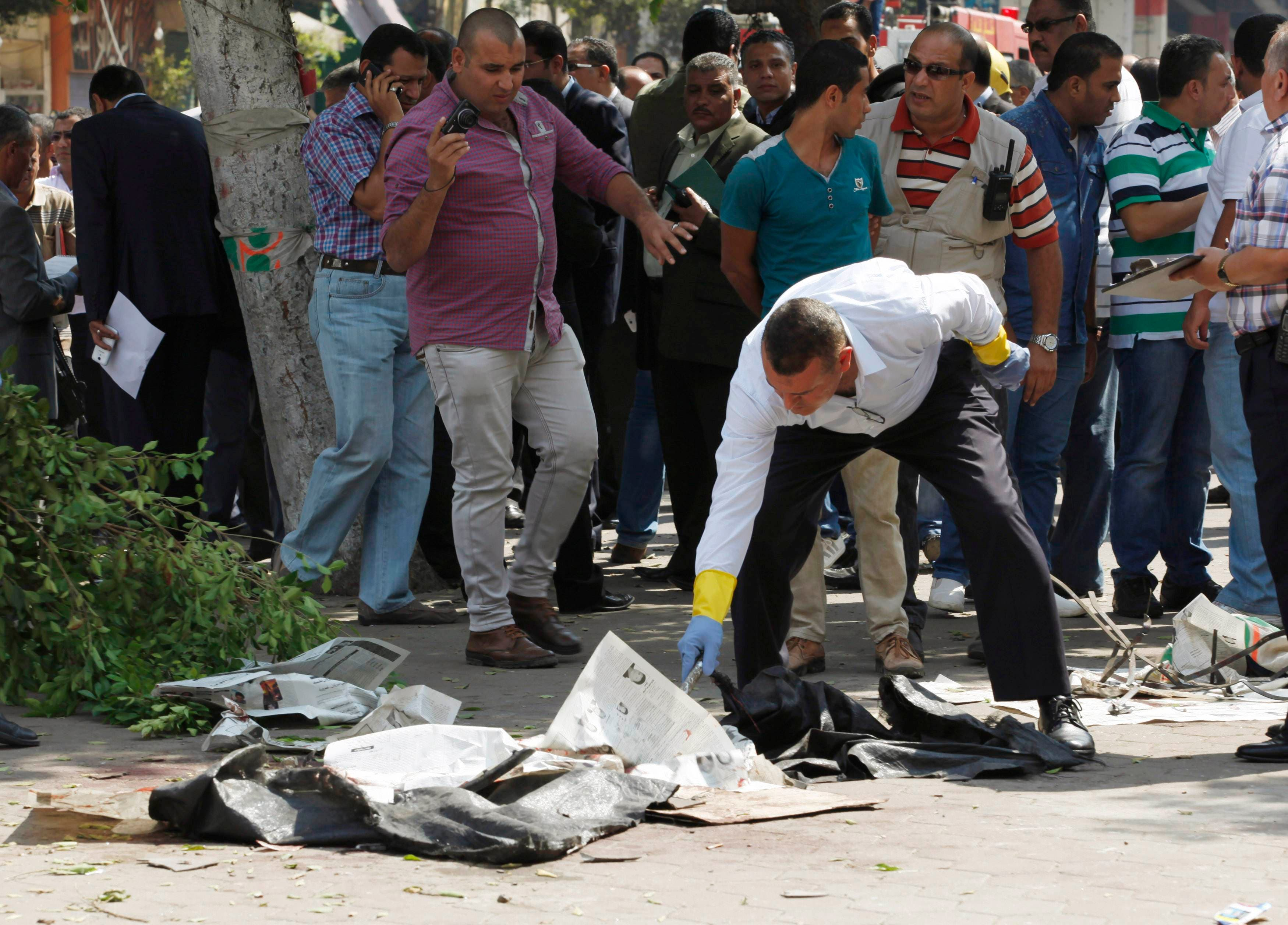 انفجار بالقرب من وزارة الخارجية في قلب القاهرة
