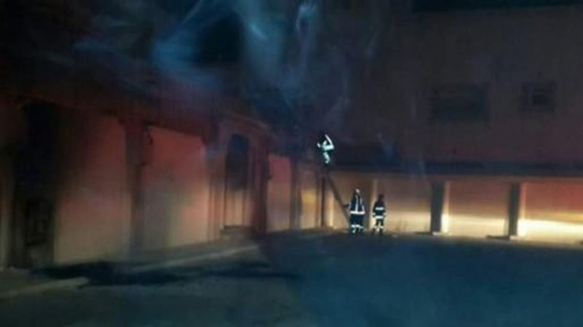 حريق منزل عضو مجلس بلدي سابق