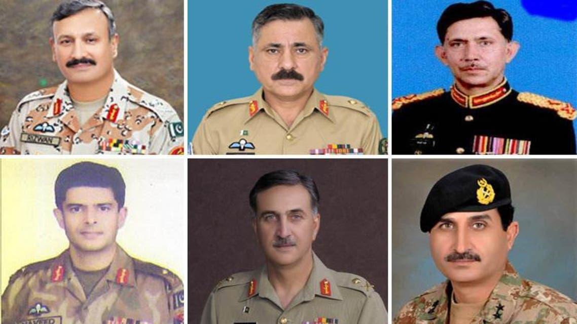 Pak Army Generals