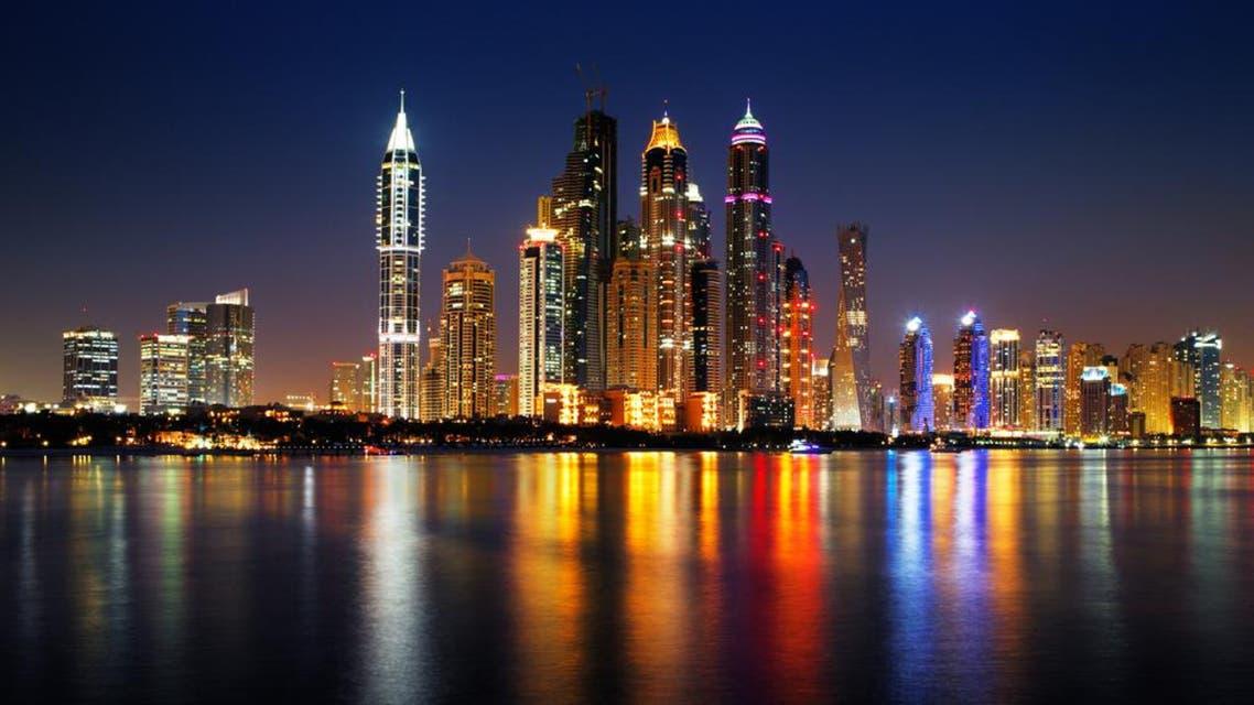 Dubai Marina skyline as seen from Palm Jumeirah on Jun 25, 2013 in Dubai, UAE.  (Shutterstock)